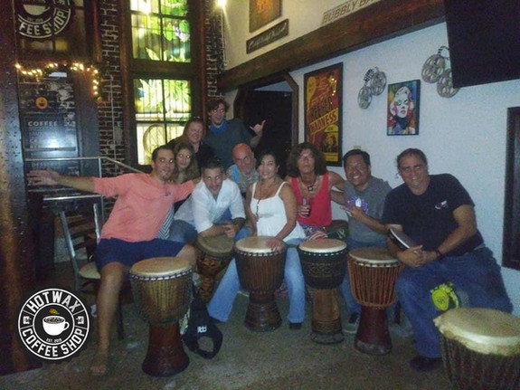 Drum Cirlce Every Friday night from 7-10