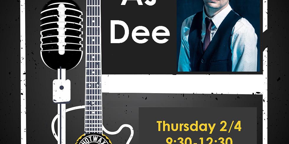 AJ Dee Performing