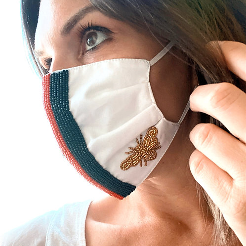 Designer Face Mask-Stripe