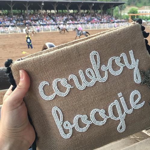 cowboy Boogie | Jute Clutch