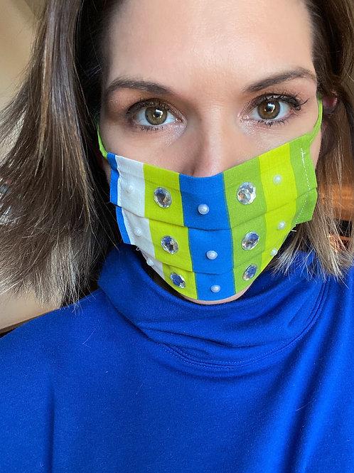 Fashion Face Mask-Bling