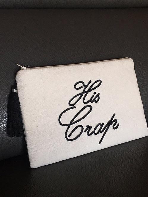 Canvas Zipper Bag (lg)