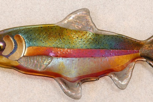 Fused Fanciful fish platter