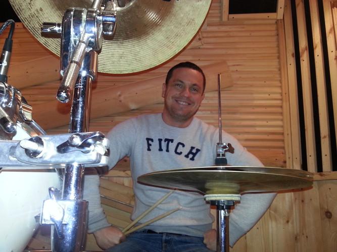 Барабаны Сонор в Барабанной Школе. Ученики барабанщика Дмитрия Оруджова
