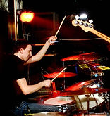 рок группа из Тольятти Детроит. За барабанами Игорь Тимоно
