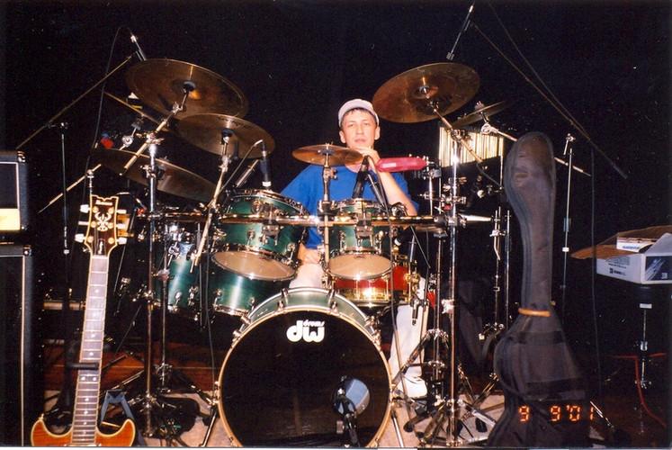 Барабанщик Дмирий Оруджов. Концерт в Чикаго США