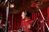 Госпел барабанщик. На фото барабанщик группы Открытое Небо Дмитрий Оруджов. Гастрольный тур по США