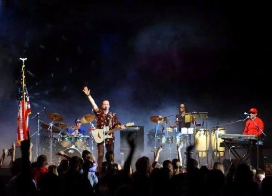 "Group ""Open Sky"" Tour of the USA. Drummer Dmirtiy Orudzhov"