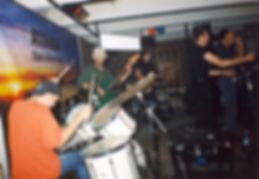Концерт в Рок клубе Атака город Тольятти. Группа Береши. Барабанщик Дмитрий Оруджов