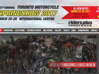 SPRING MOTORCYCLE SHOW       MARCH 25-26 2017