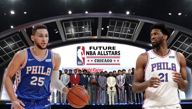 Ben Simmons, Joel Embiid, drafting NBA All-Stars