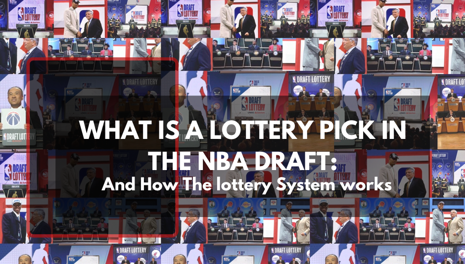 NBA Draft Lottery moment images