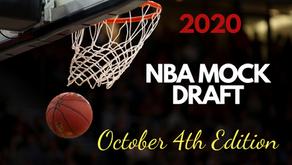 2020 NBA Mock Draft: October 4th Edition