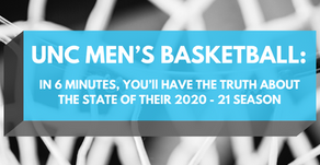 UNC Men's Basketball: In 6 Minutes, You'll Have The Truth About The State Of Their 2020-21 Season