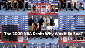The 2000 NBA Draft: Why Was It So Bad?
