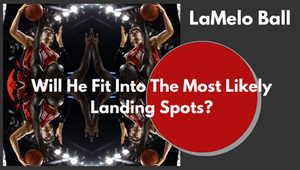LaMelo Ball Landing Spot reflecting mirror cover image