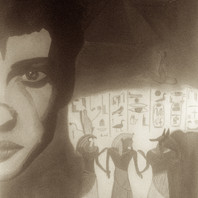 Acrylic by Elisa LE HIR from Immortal movie poster