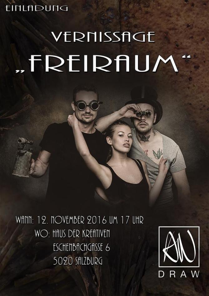 """Vernissage """"Freiraum"""""""