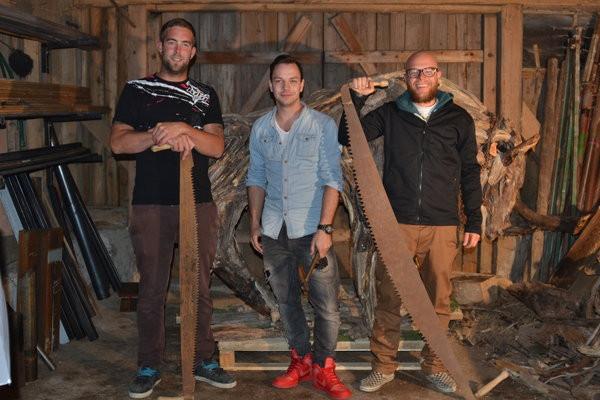 """,,Der Salzburger Stierwascher-Stier"""" aus Schwemmholz von Andraw Art und Team"""
