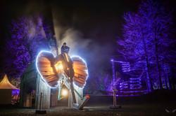 Burning Elephant