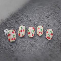 Cherry-Hand Painted
