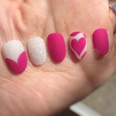 Sugar Pink Heart