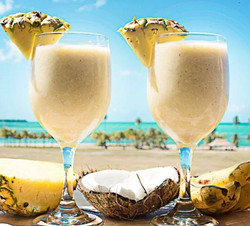 smoothie ananas cocos