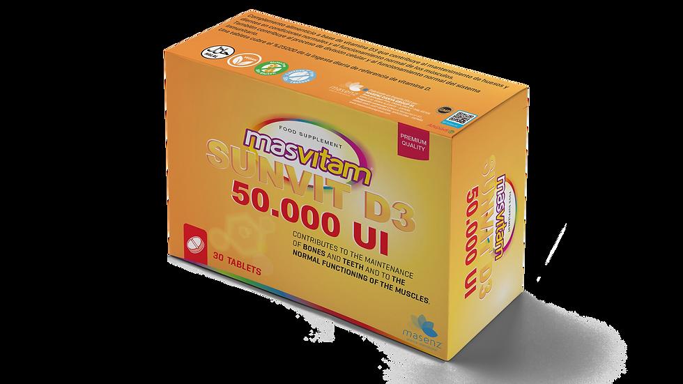 MASVITAM  SUNVIT D3 50.000 UI