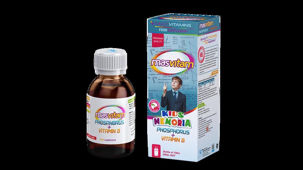 MASVITAM KIDS MEMORY PHOSPHORUS + B12