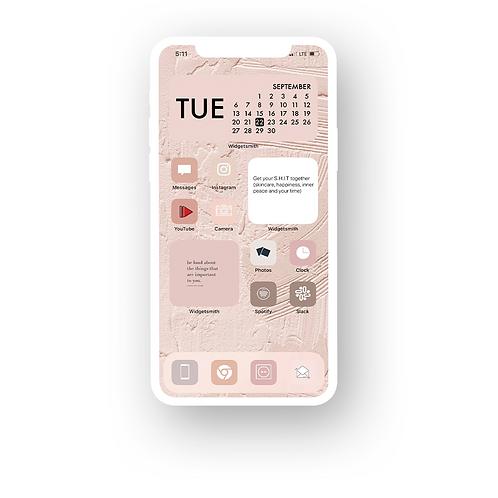 Self Care iPhone Home Screen