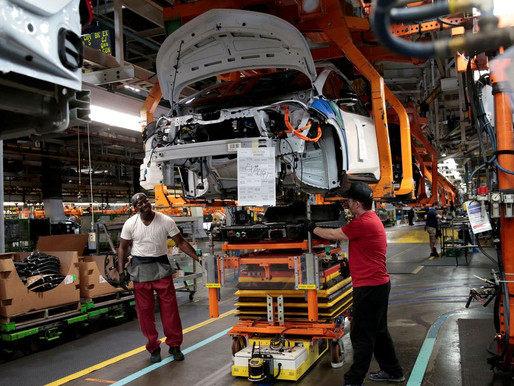 IBGE: indústria recua 1,3% em julho e fica abaixo do período pré-pandemia
