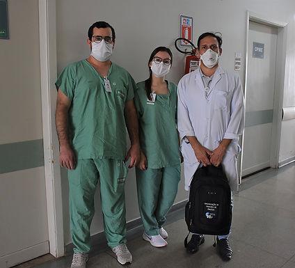 Cirurgia para doação de córneas é realizada no Hospital São Domingos
