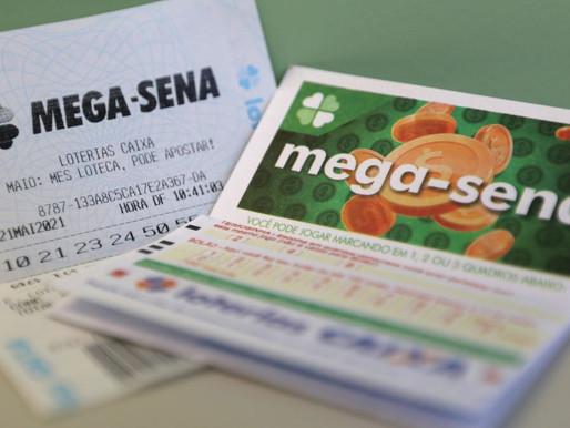 Mega-Sena sorteia nesta quarta-feira prêmio acumulado em R$ 35 milhões