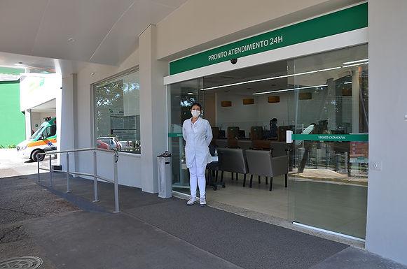 Hospital da Unimed Catanduva tem apenas dois pacientes internados na Unidade Respiratória