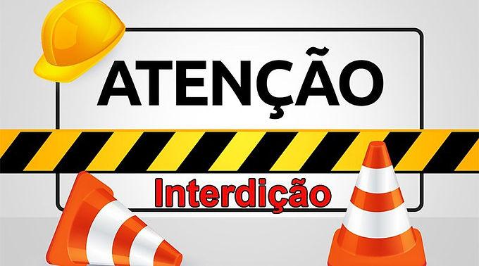Rua Teresina será interditada nesta quarta-feira