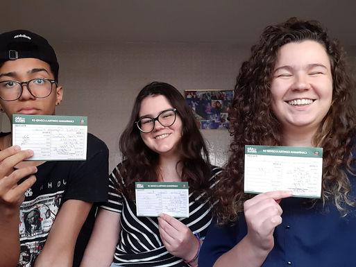 Adolescentes de Catanduva se emocionam ao serem vacinados contra a Covid-19