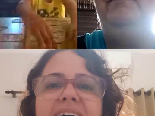 Professora de Catanduva promove aula online de Libras para alunos surdos