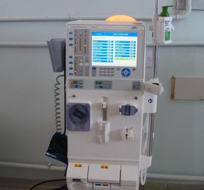 Ala Covid do Hospital Emílio Carlos ganha reforço de equipamento de hemodiálise