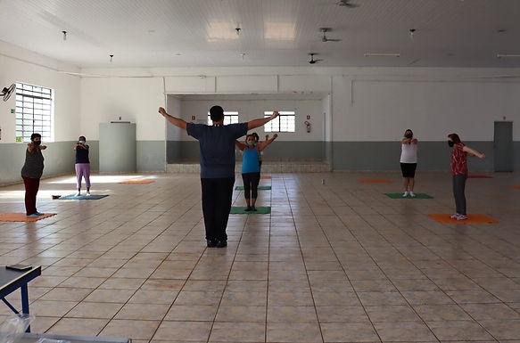Grupo da Terceira Idade de Santa Adélia retoma aulas presenciais de pilates