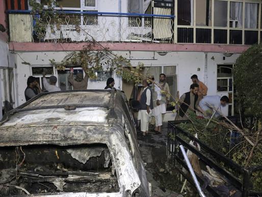 EUA afirmam que ataque de drone em Cabul matou 10 civis