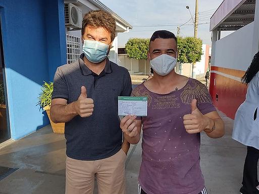 Elisiário faz mutirão de vacinação contra Covid-19 para maiores de 28 anos