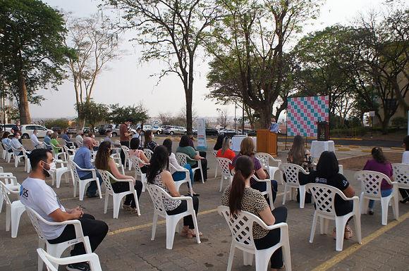 HCC comemora dois anos com bênção e exposição fotográfica
