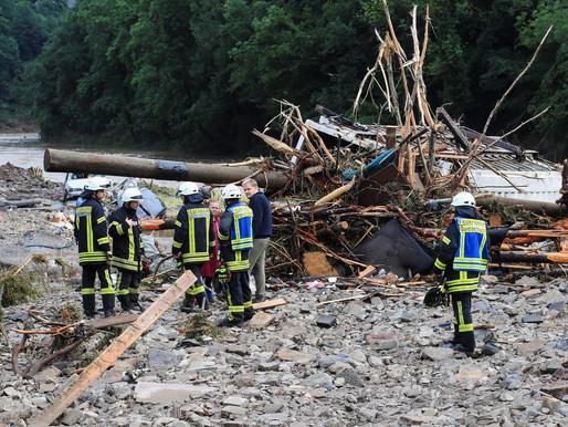 Inundações na Europa Ocidental deixam ao menos 42 mortos