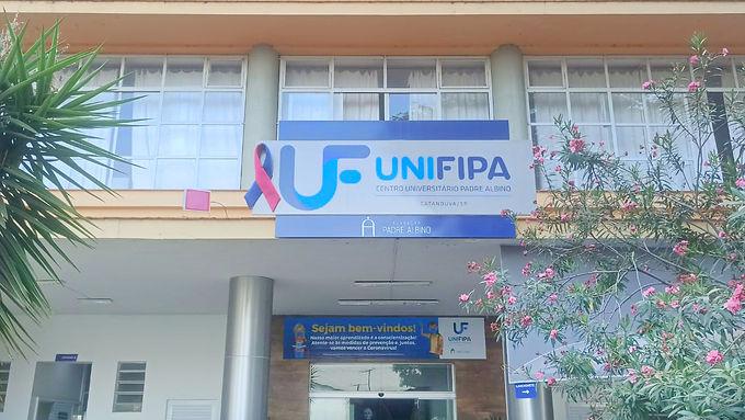 Com cores rosa e azul, FPA reforça campanha contra cânceres de mama e próstata