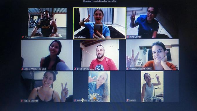 Online, academia da Unifipa ultrapassa marca de 100 alunos