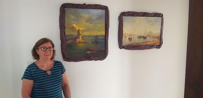 Premiada, artista plástica Conceição Pires apresenta exposição no histórico Castelinho