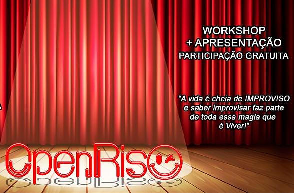 Nova Catanduva recebe projeto OpenRiso com workshop e espetáculo