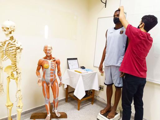 Jogadores do Catanduva Futebol Clube passam por avaliação diagnóstica no Laboratório da Unifipa