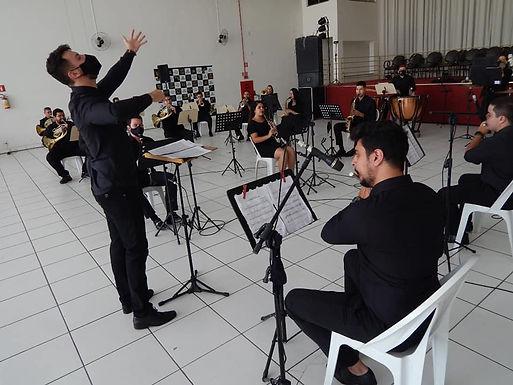 Banda Sinfônica de Catanduva se apresenta em homenagem ao Dia dos Pais