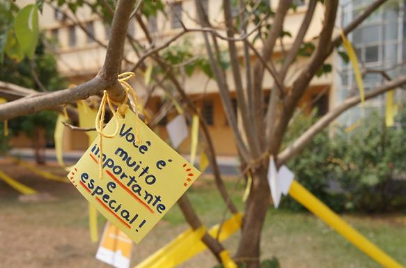Núcleo de Apoio Psicopedagógico da Unifipa promove 'Ação de Valorização da Vida'